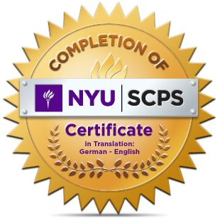 NYU badge
